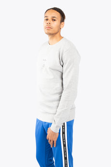 Men Sweater Foul - Grey Melange