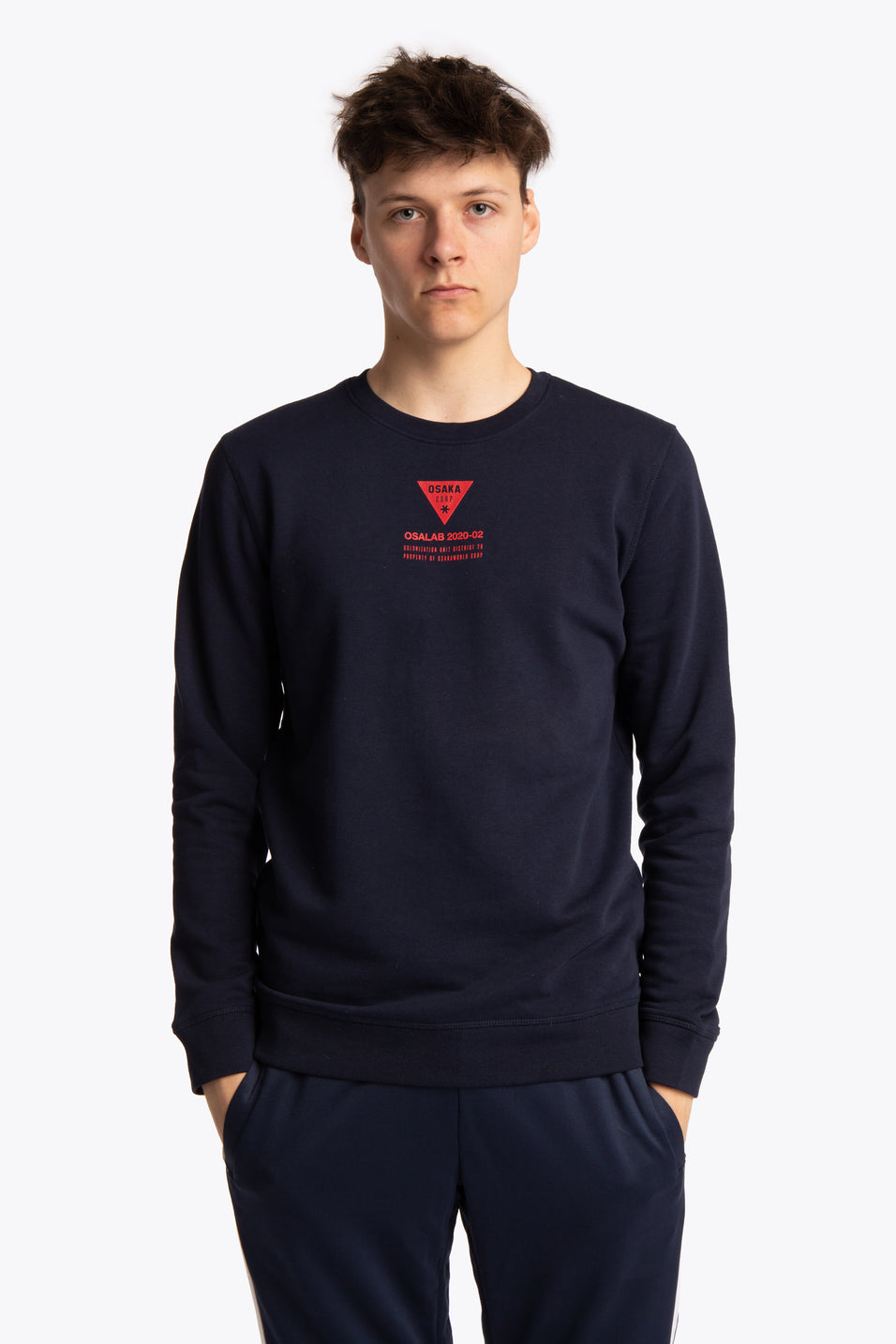 Osakaworld unisex sweater navy