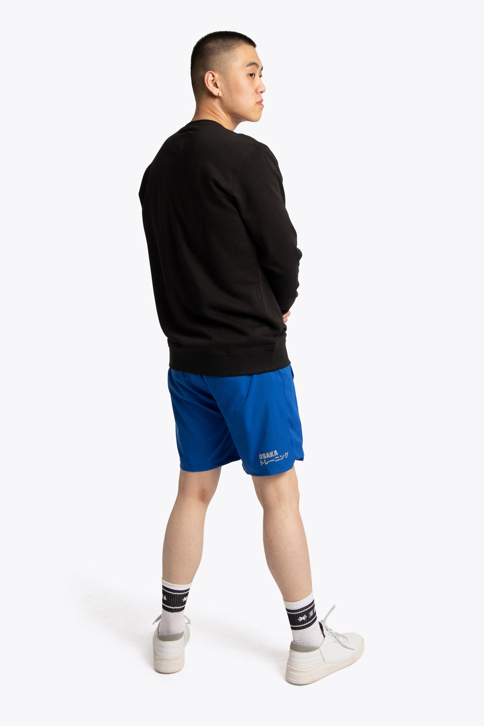 Men Sweater Osaka Star - Black