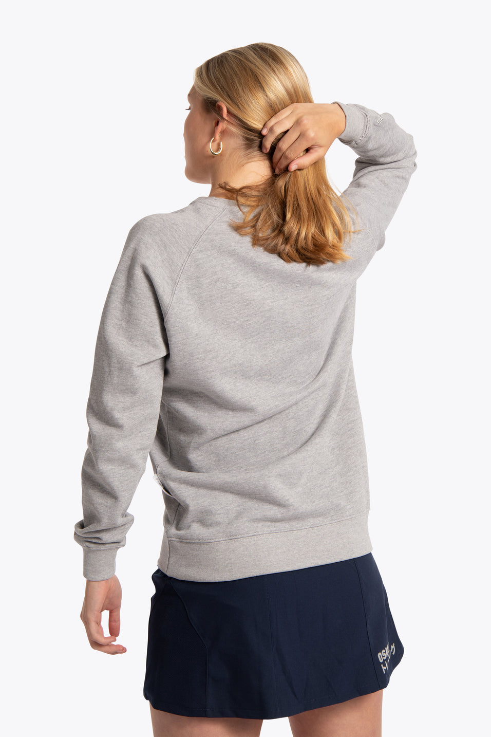 Women Sweater Osaka Star - Grey Melange