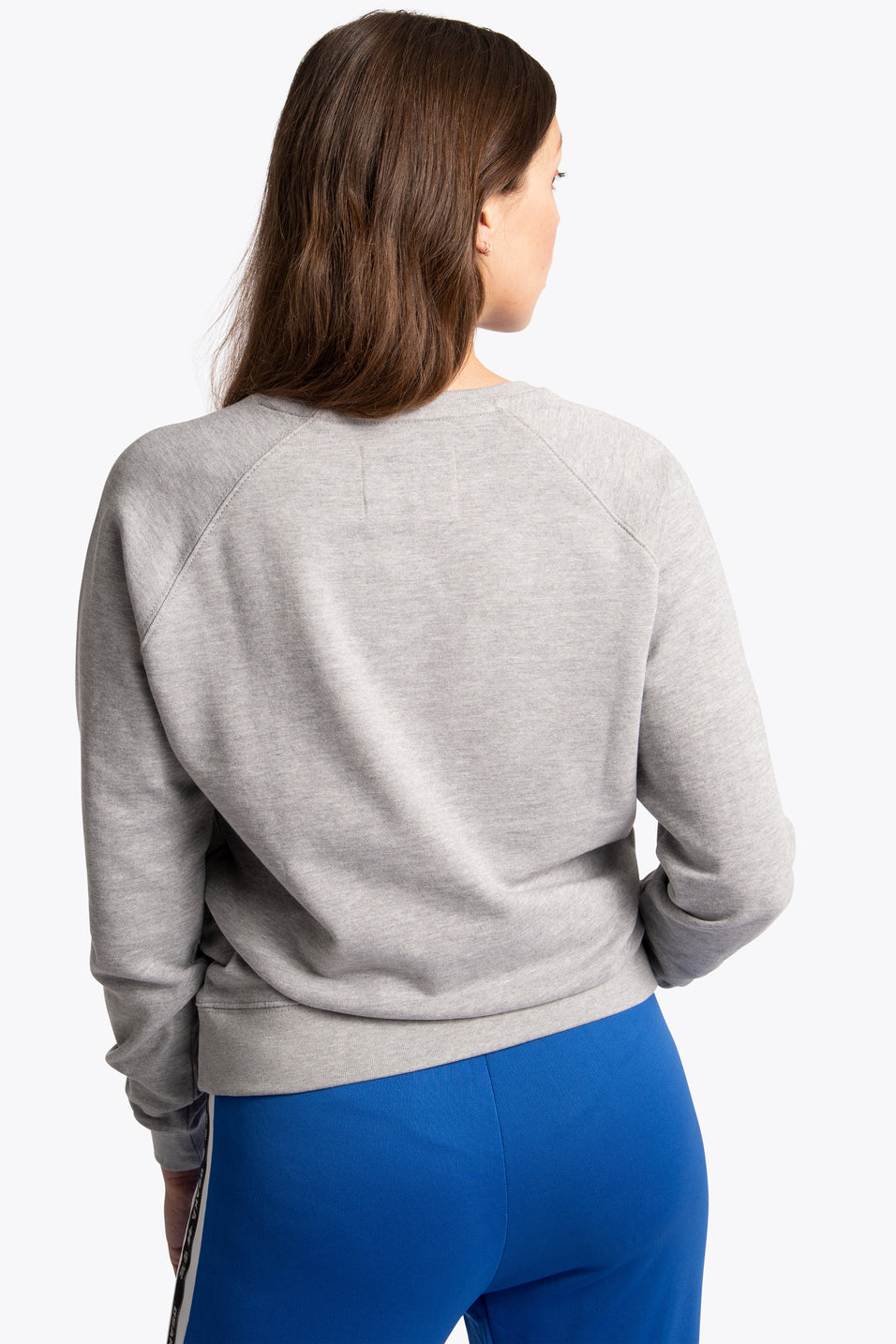 osakaworld women sweater preppy grey