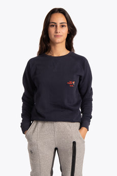 Osaka sweater navy preppy golf