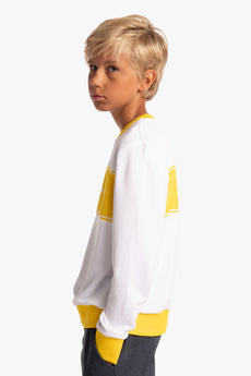 Osaka Retro Kids Sweater - Yellow
