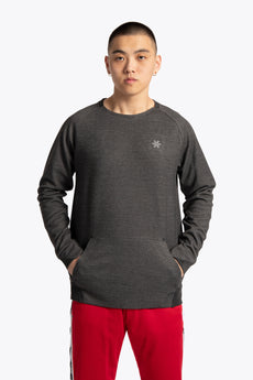 Men Techleisure Sweater  - Black