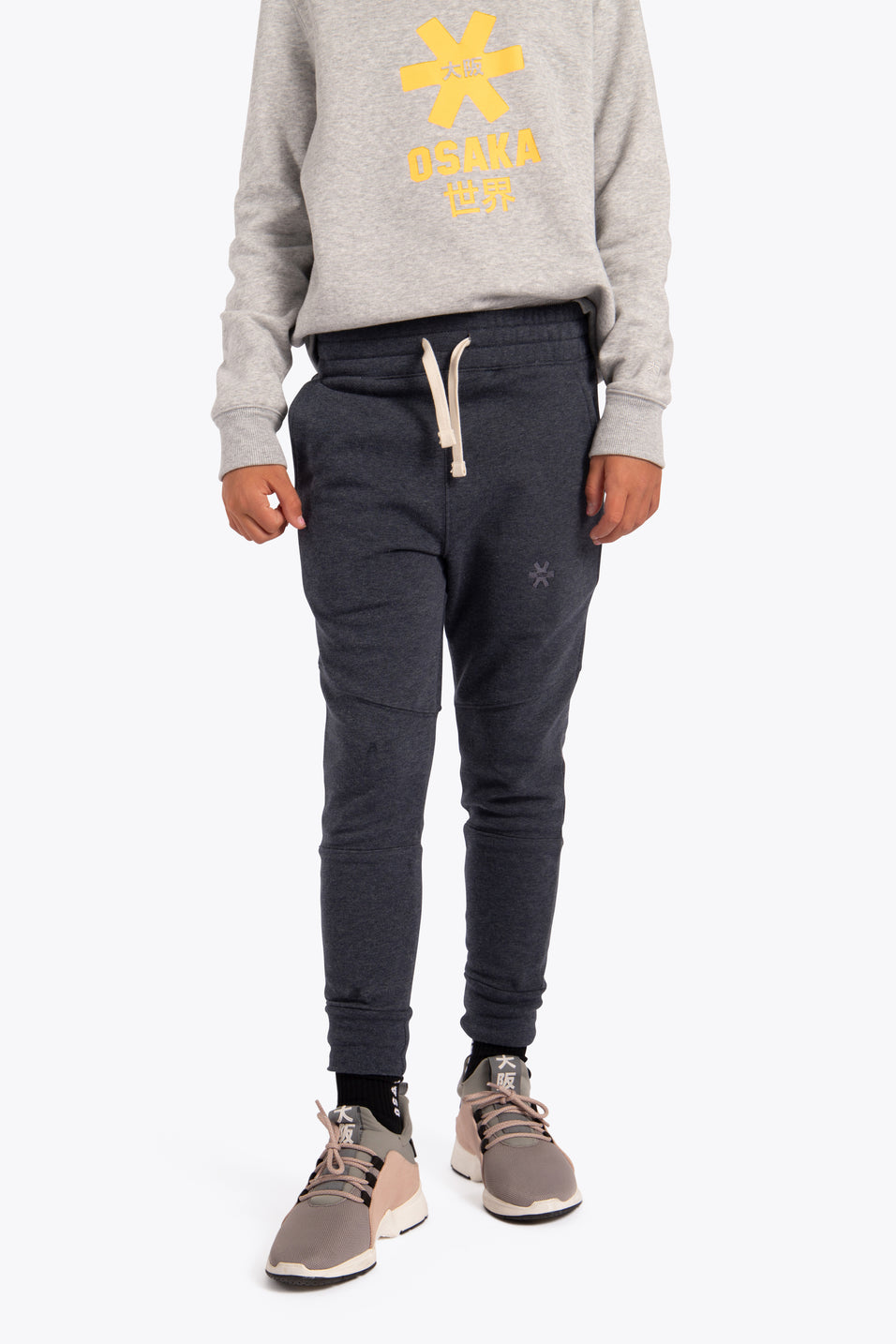 Deshi Sweatpants - Navy Melange