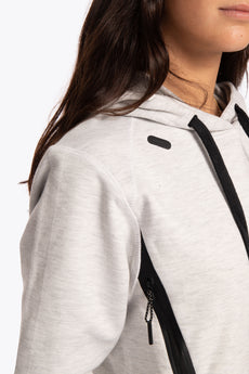 Women Techleisure Hoodie - Off White