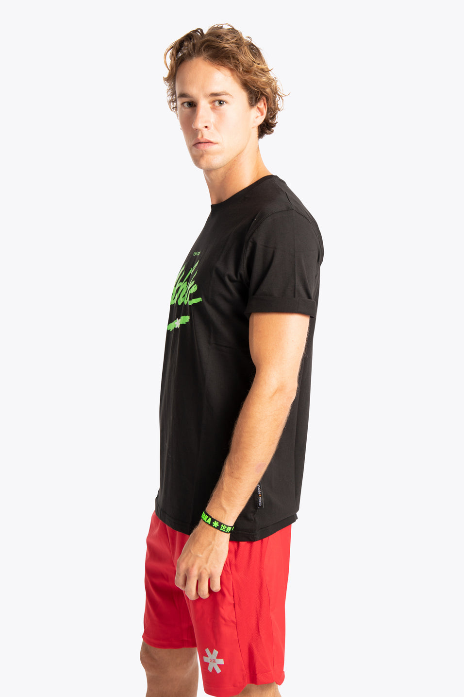 Men Tee Athlete - Black