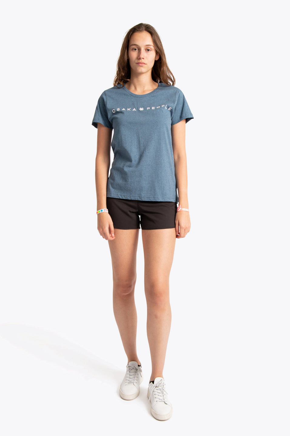 Women Tee Osaka People - Teal