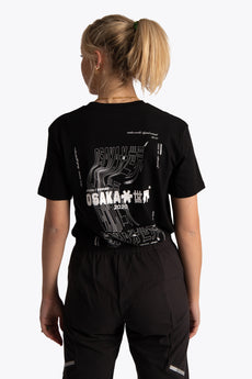 OSakaworld black tee women