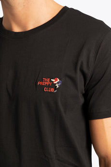 Men Tee Preppy Club - Black