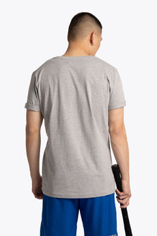 Men Tee Preppy Club - Grey Melange