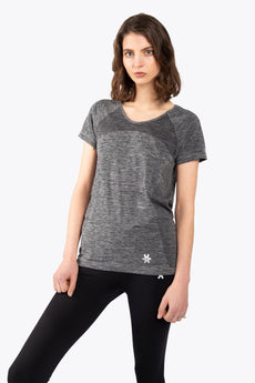 Osaka women short tech knit grey
