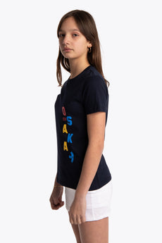 Osaka girls side view tee