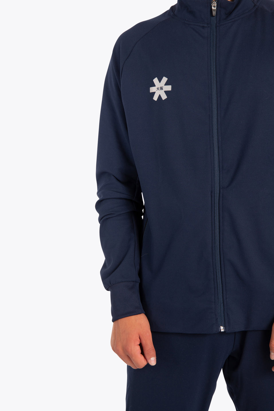 Men Track Top - Navy