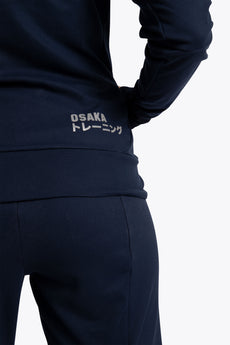 Women Track Top - Navy