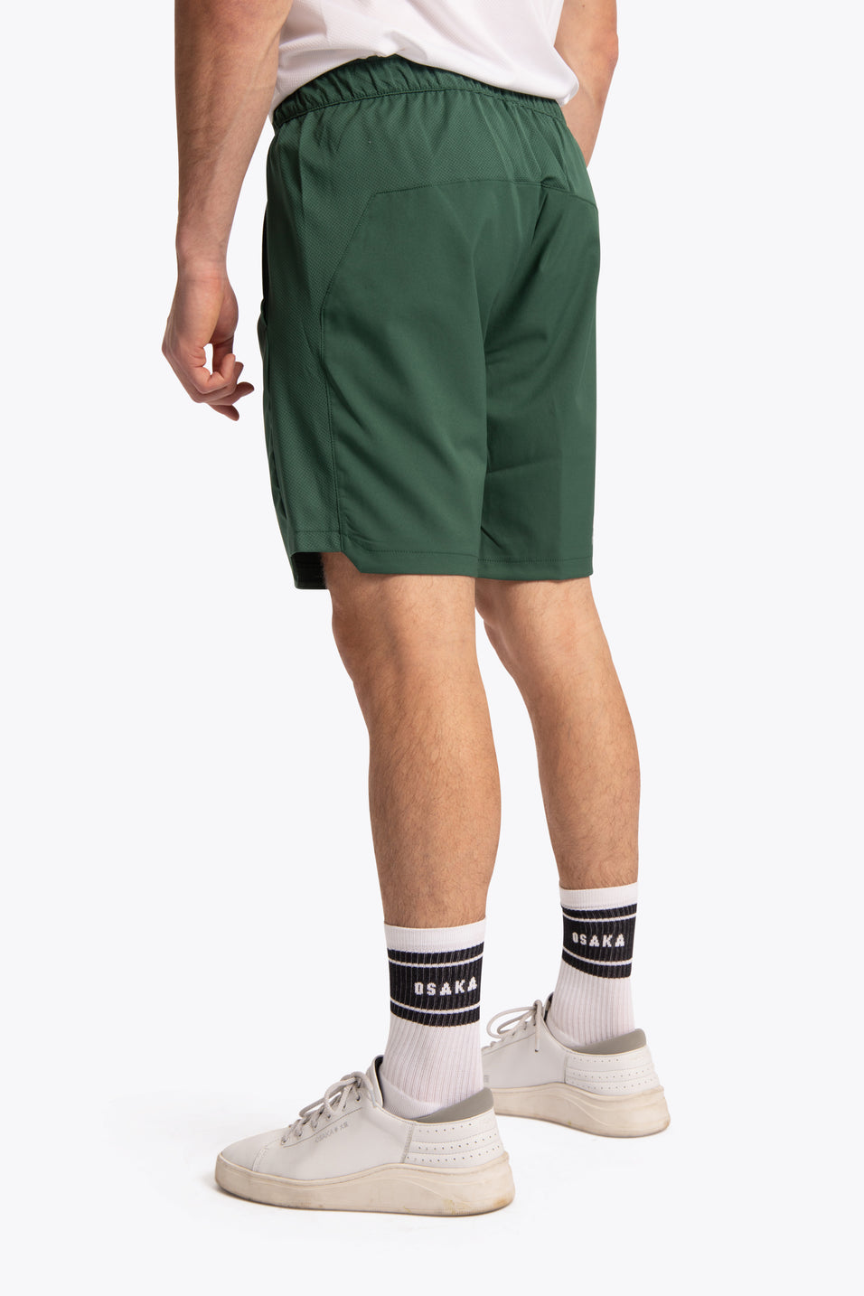 Osakaworld training short dark green men