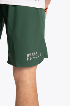 Osaka training shorts green for men