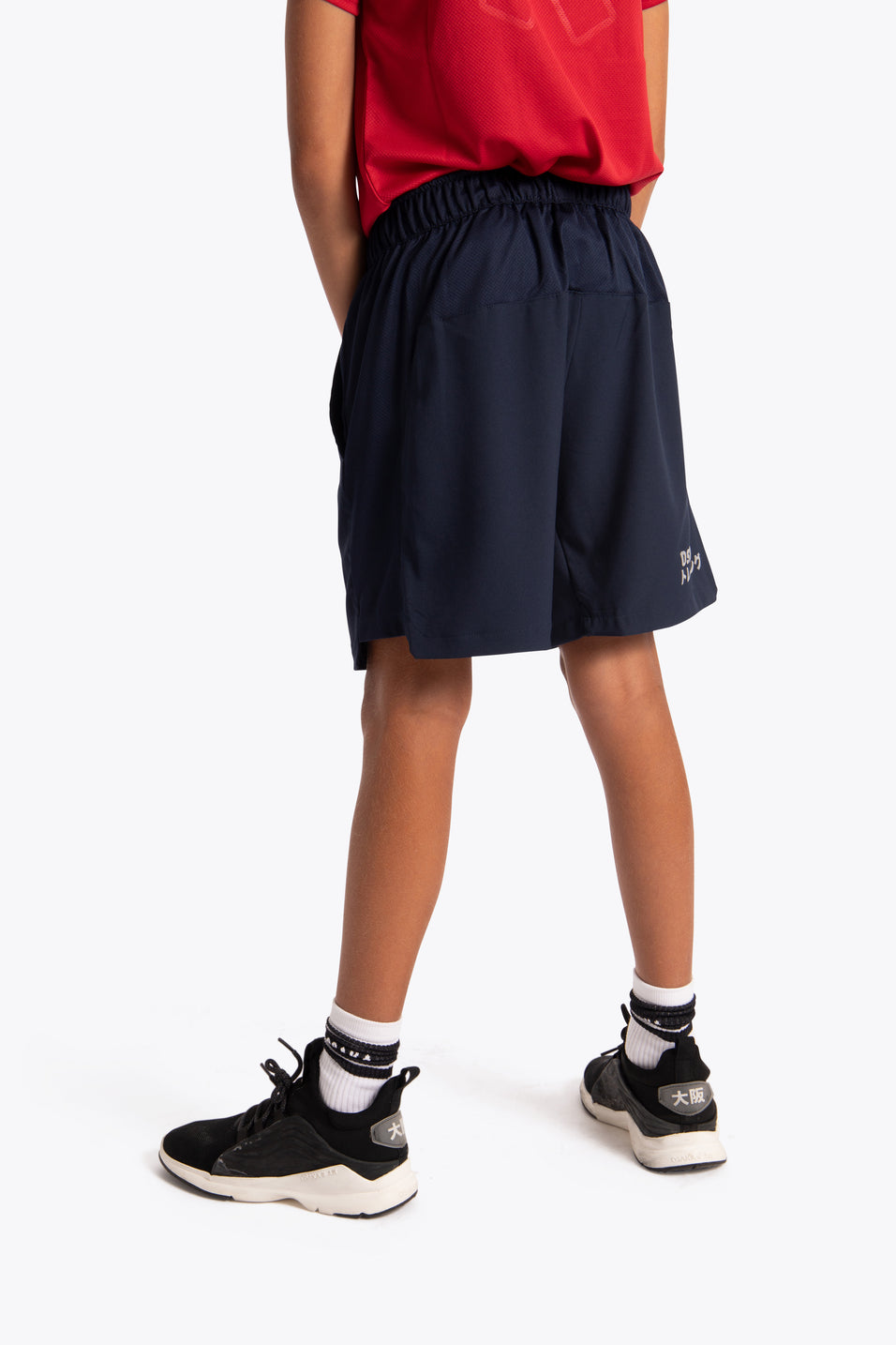 Osaka kids athletic shorts navy