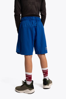 Osaka training shorts girls blue