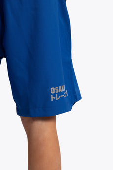 Atheletic training shorts kids blue