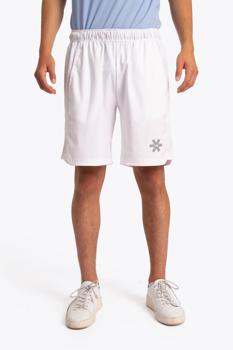 Men Training Short - White