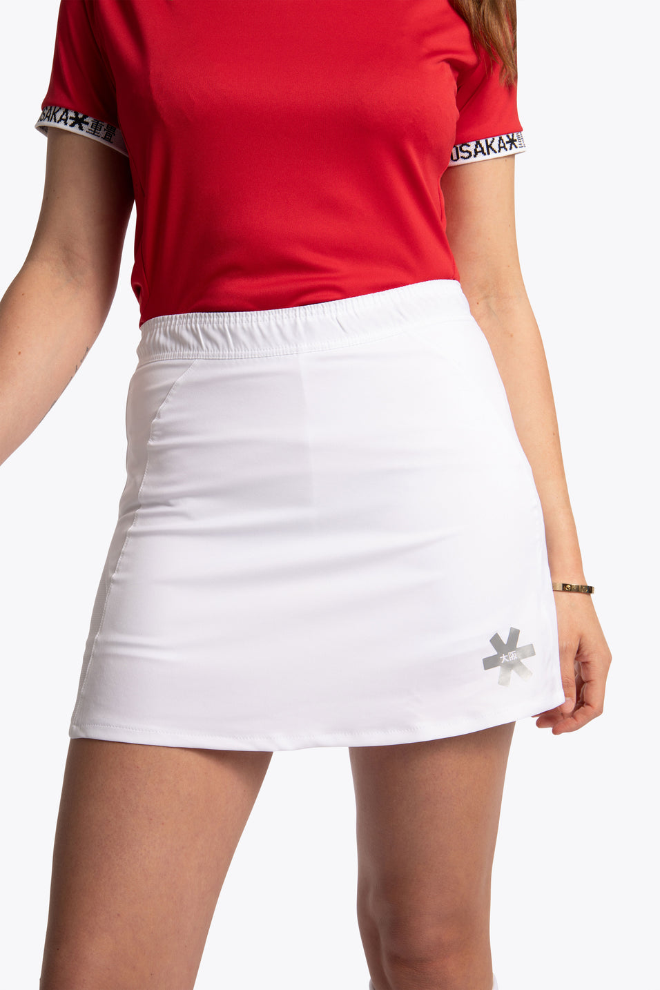 Women Training Skort - White
