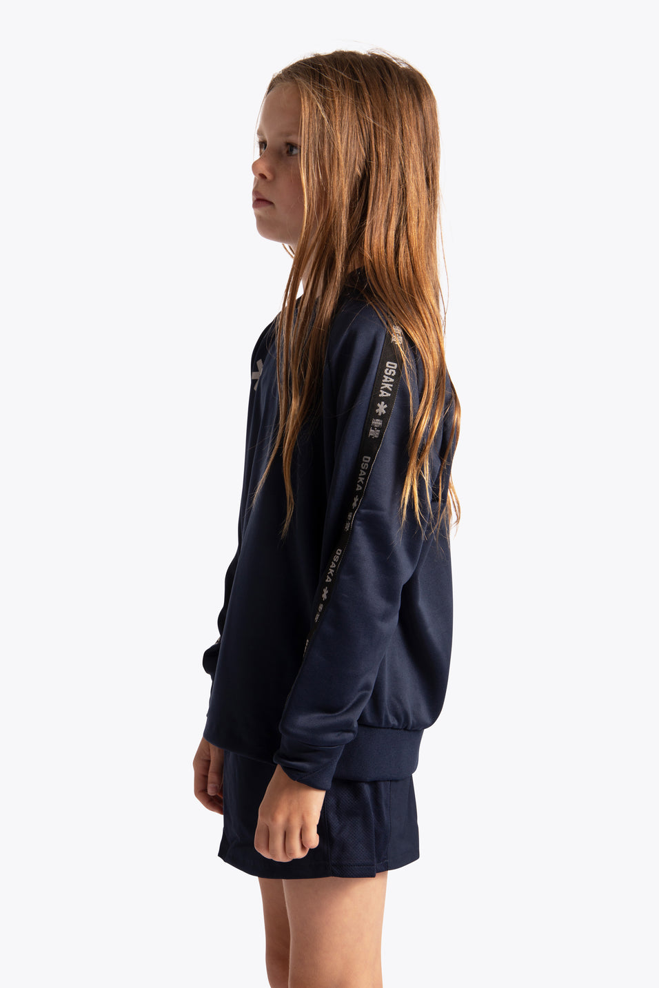 Osaka girls sweater navy