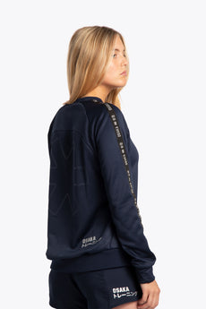 Sport sweater women navy