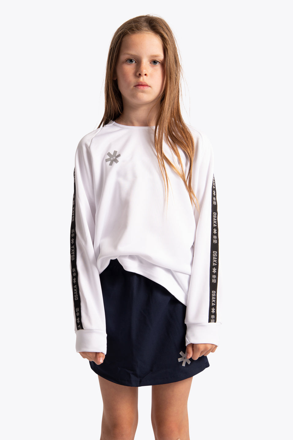 Osaka training sweater kids white