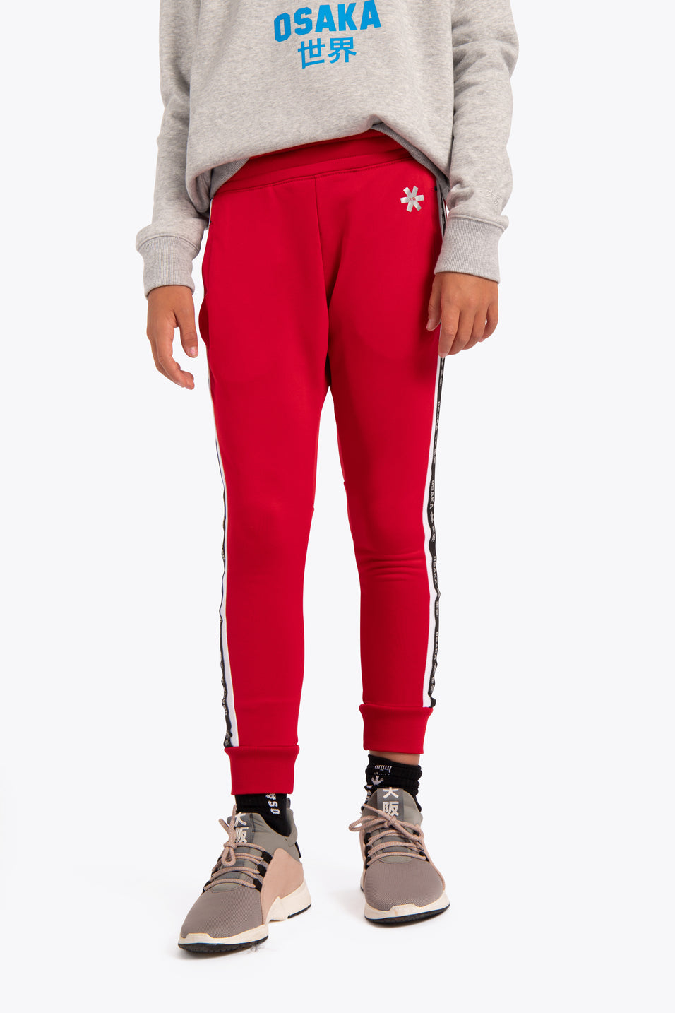 Osaka kids sweatpants red