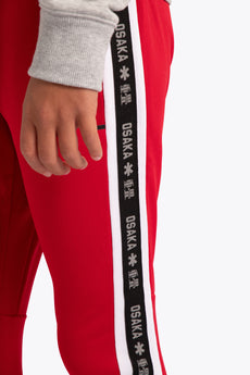 kids sweatpants red