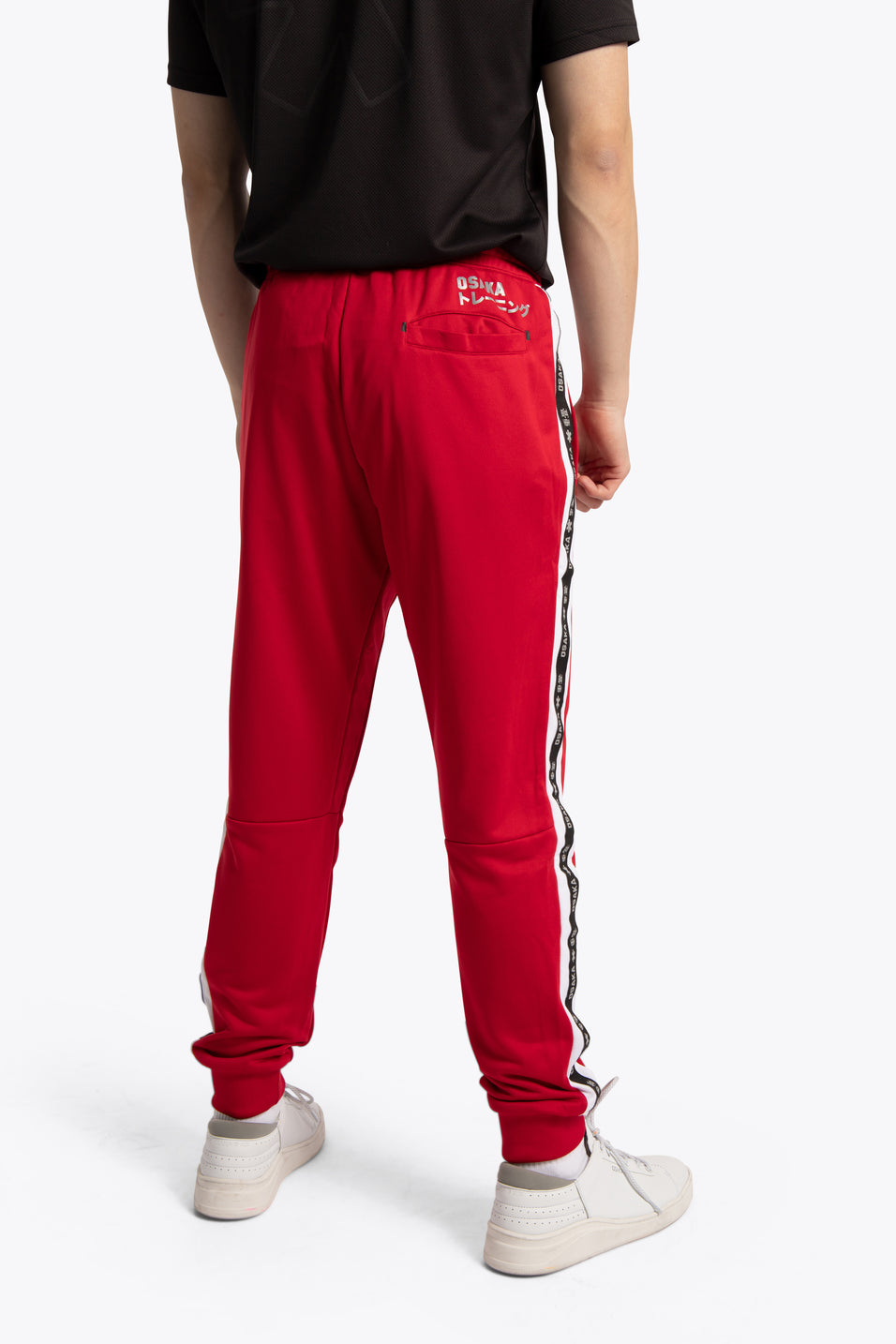 Osakaworld training sweatpants red