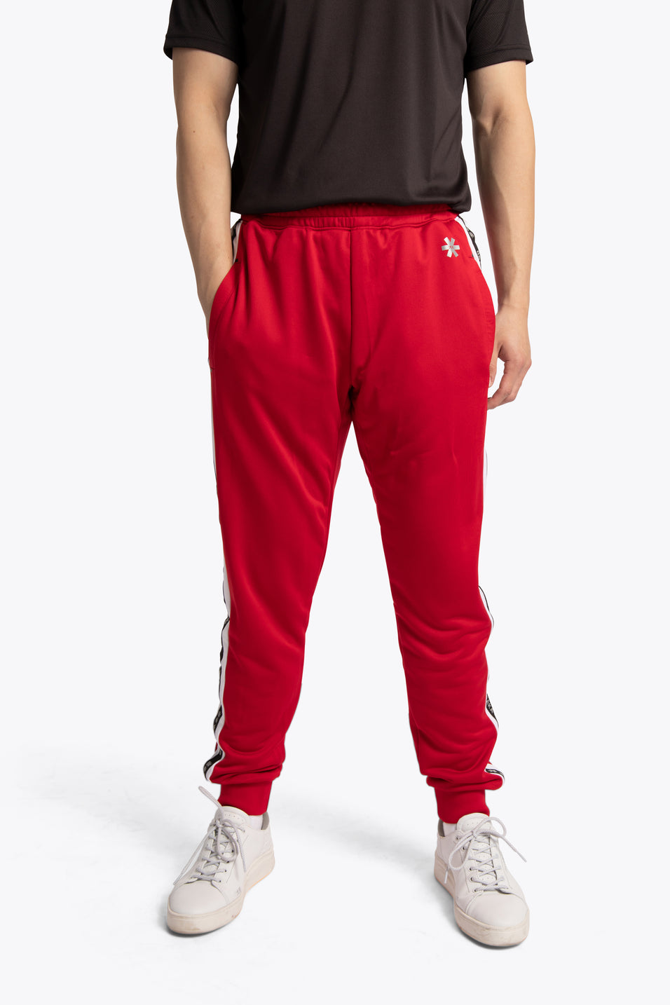 osaka training sweatpants red