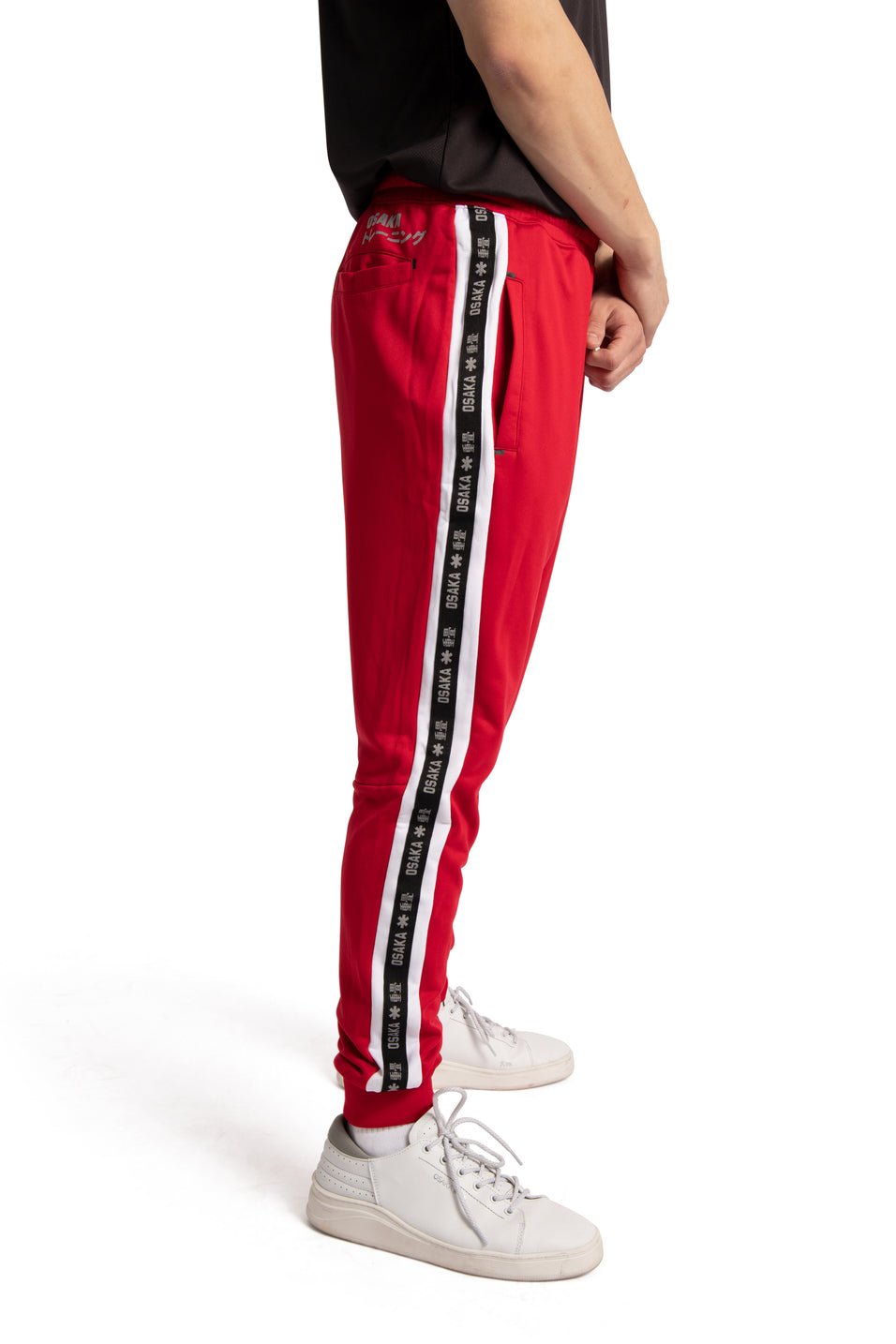 Osaka sweatpants red