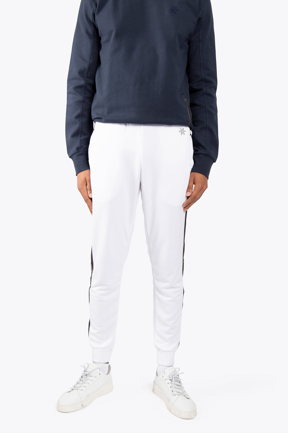 Men Training Sweatpants - White