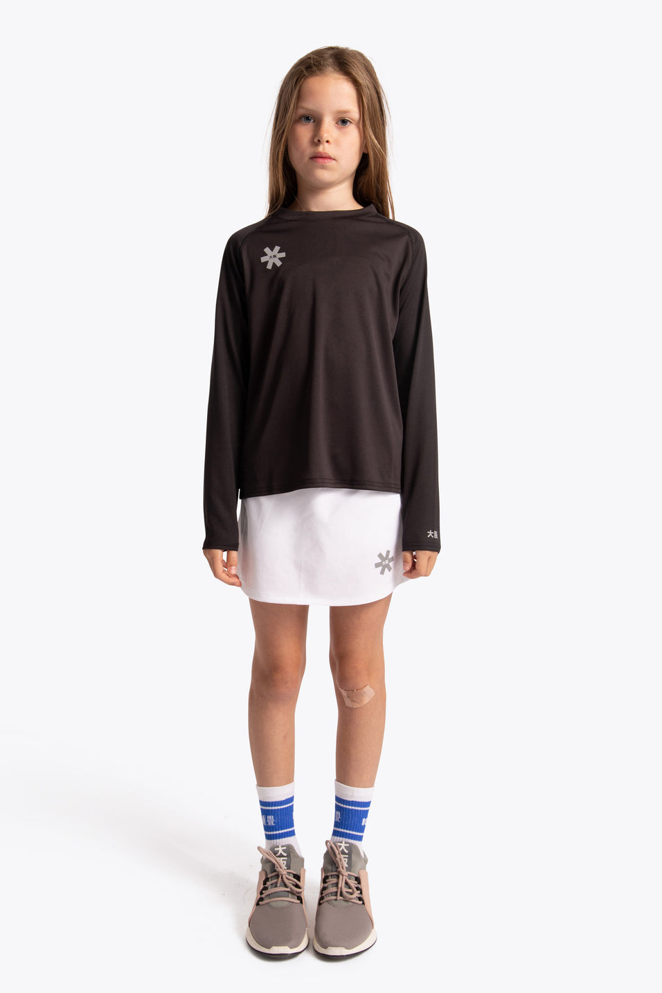 kids sports tee long sleeve