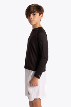 Boys long sleeve sports tee