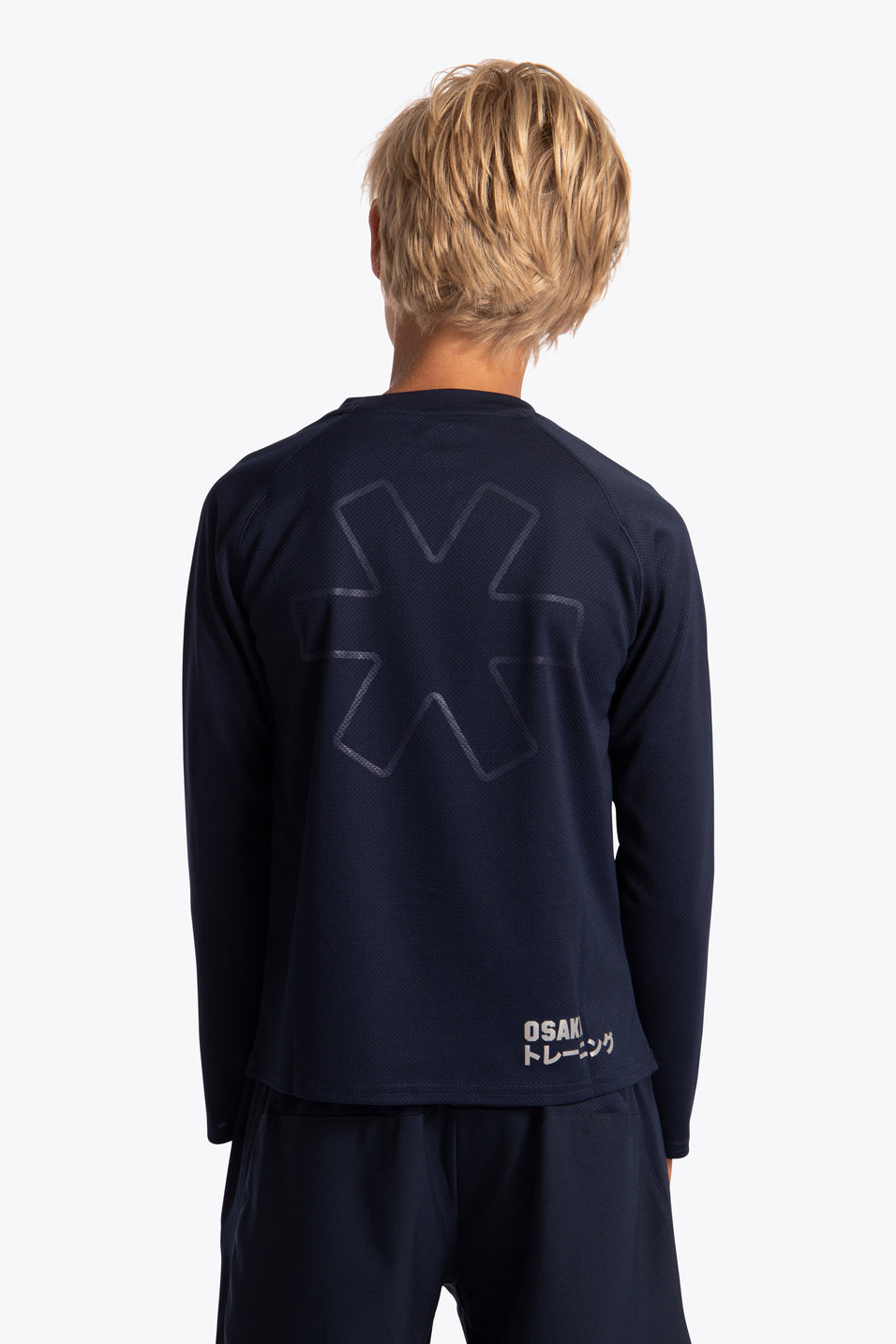 osaka training tee long sleeve for kids