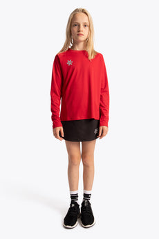 Deshi Training Tee Long Sleeve - Red