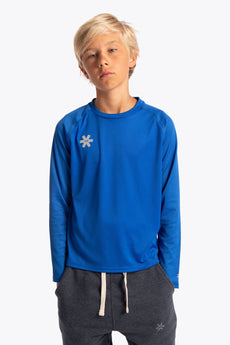 Deshi Training Tee Long Sleeve - Royal Blue