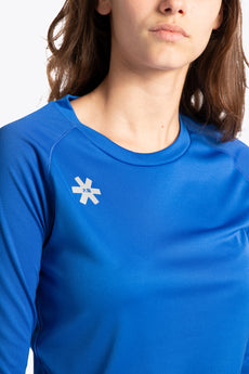 Women Training Tee Long Sleeve - Royal Blue