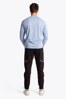 Men Training Tee Long Sleeve - Sky Blue