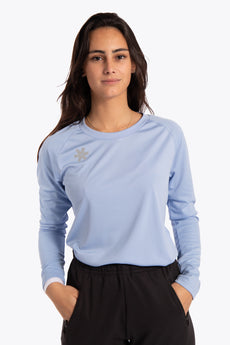 Women Training Tee Long Sleeve - Sky Blue