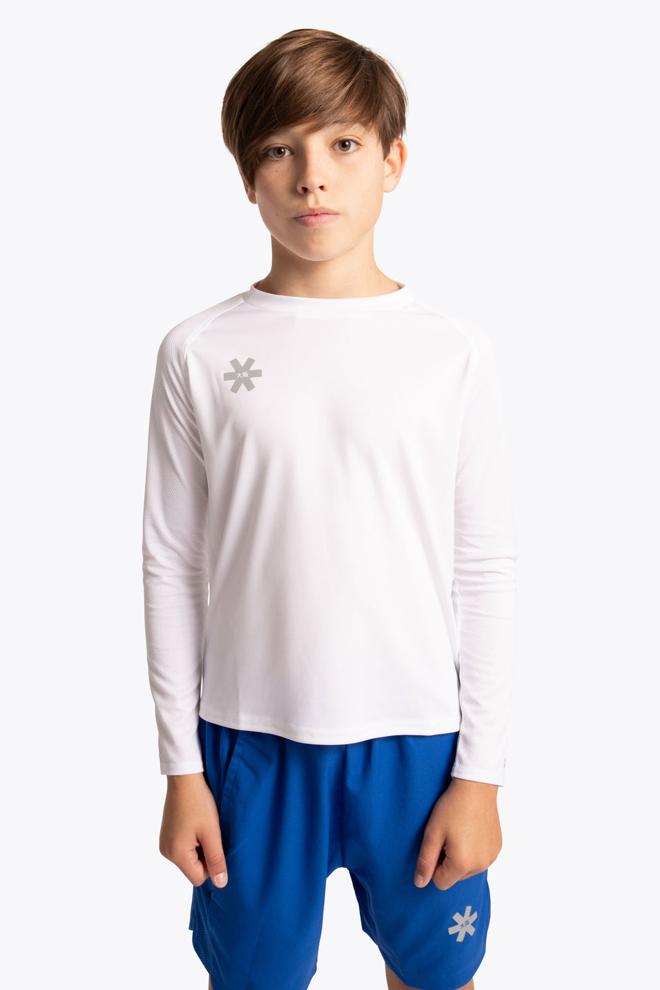 Osaka Kids training tee long sleeve white