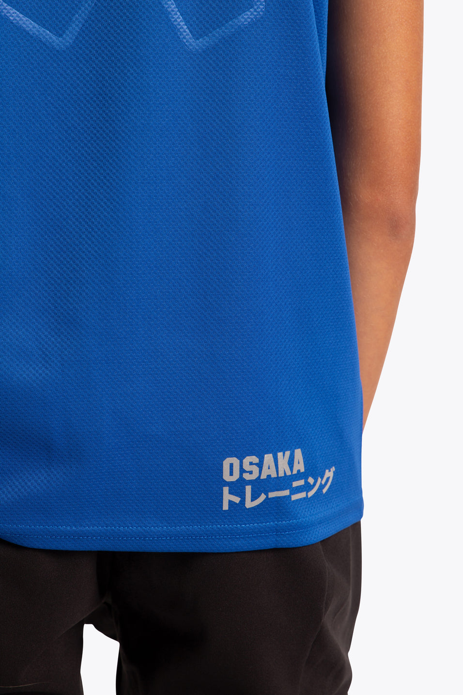 osaka training tee kids blue