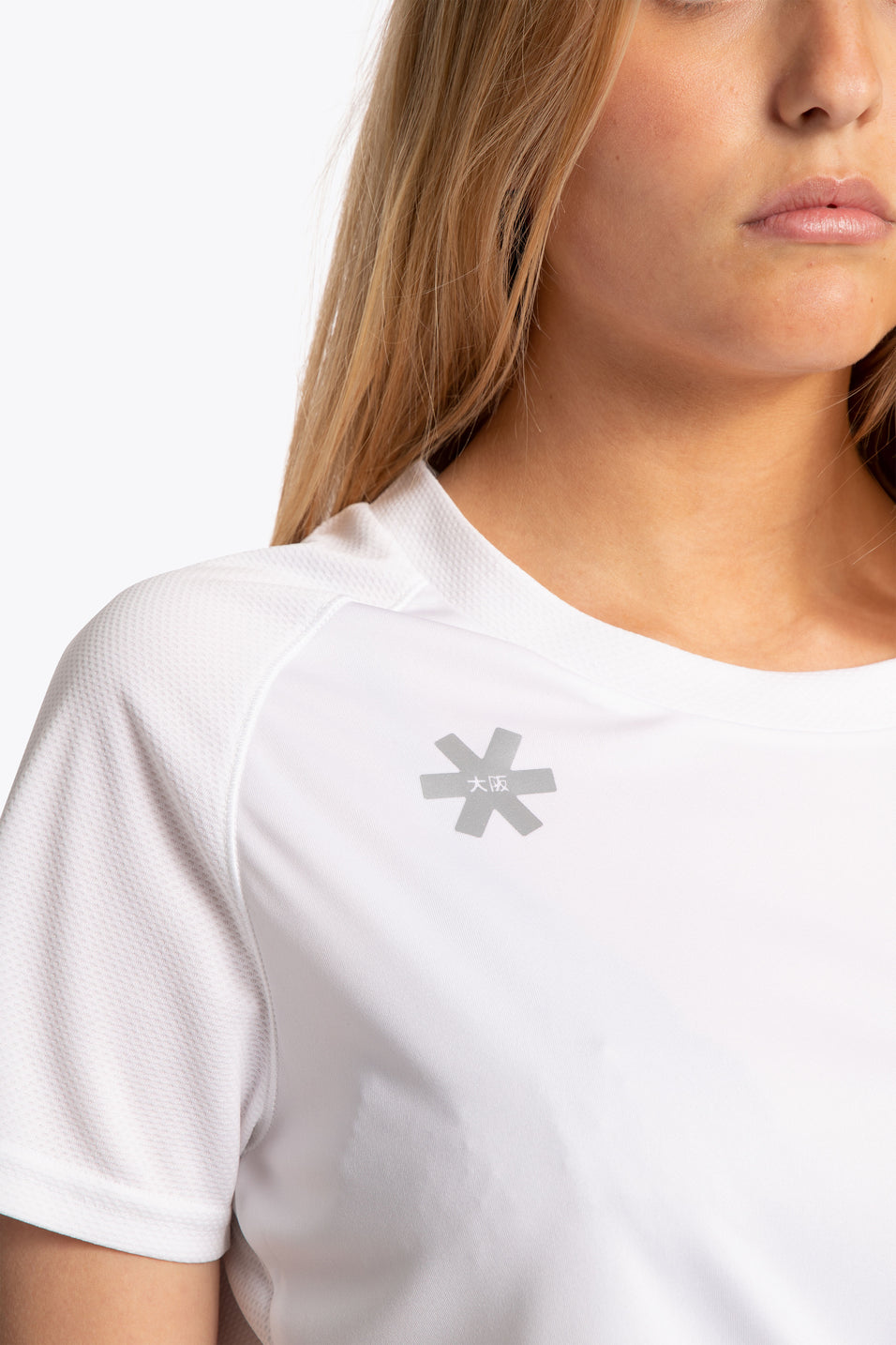 Women sport shirt white