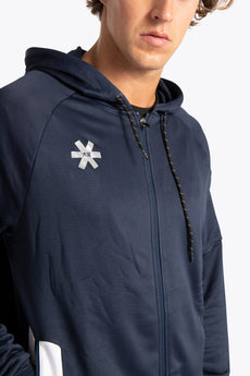 Men Training Zip Hoodie - Navy