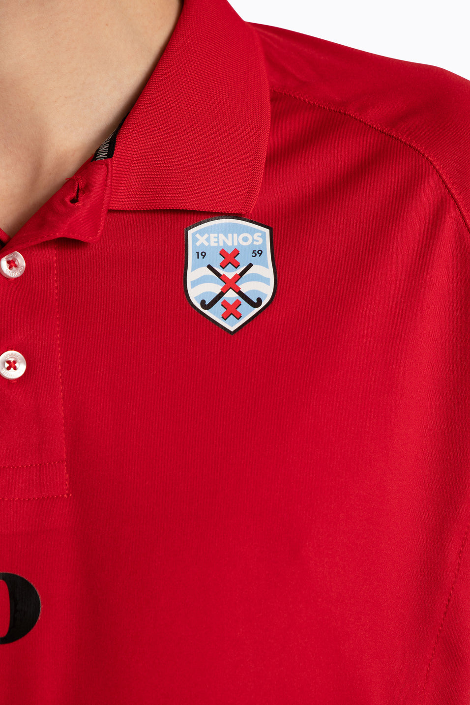 Xenios Men Polo Jersey - Red