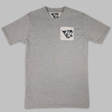 GREY R+R SIGNATURE TEE (MADE TO ORDER)
