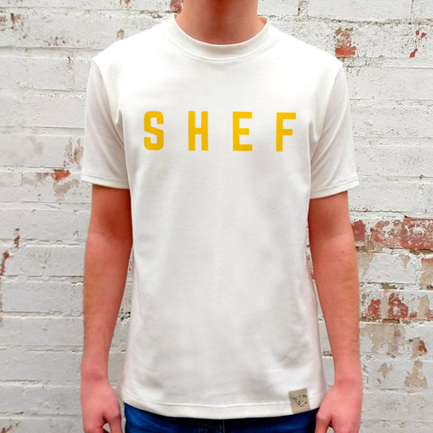 IVORY SHEF TEE (MADE TO ORDER)